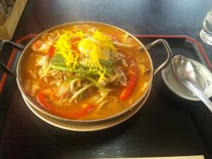 チゲ鍋ラーメン ¥800