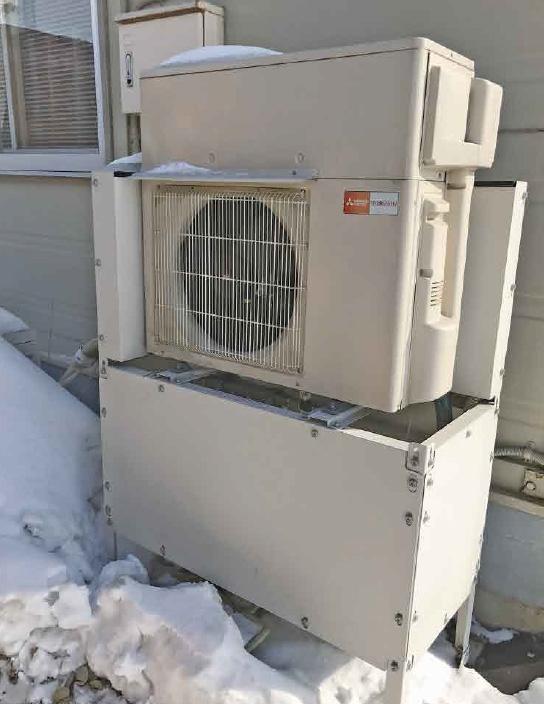 ヒートポンプ式温水ロードヒーティング