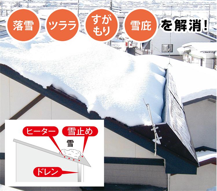 落雪防止タイプ