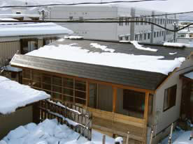 落雪防止タイプ 施工例