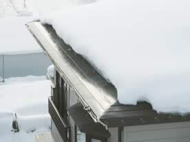 落雪融雪タイプ 施工例